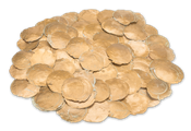 Camar gold 0,5kg | Capiz | Perlmuttscheiben – Bild 1