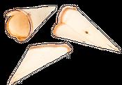 Holz Tüten 10 Stück ca. 10-14cm – Bild 2