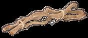 Drachen Liane natur 3 Stück 60cm 2-3cm – Bild 1