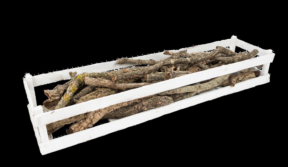 Korkeichen Stämme ca. 40-70cm 1 Kiste