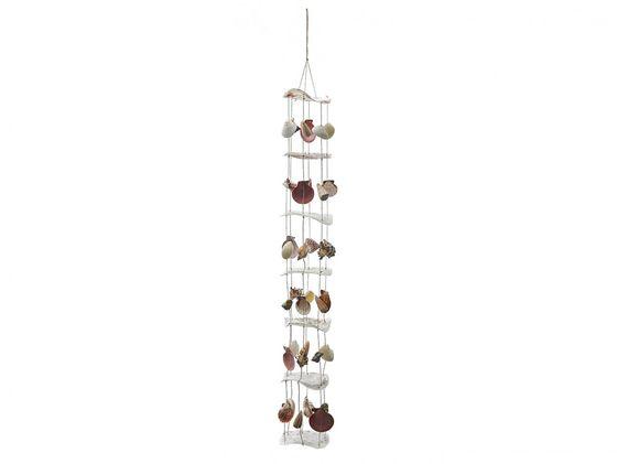 Perlmutt Girlande mit Muscheln und Schnecken ca. 90cm – Bild