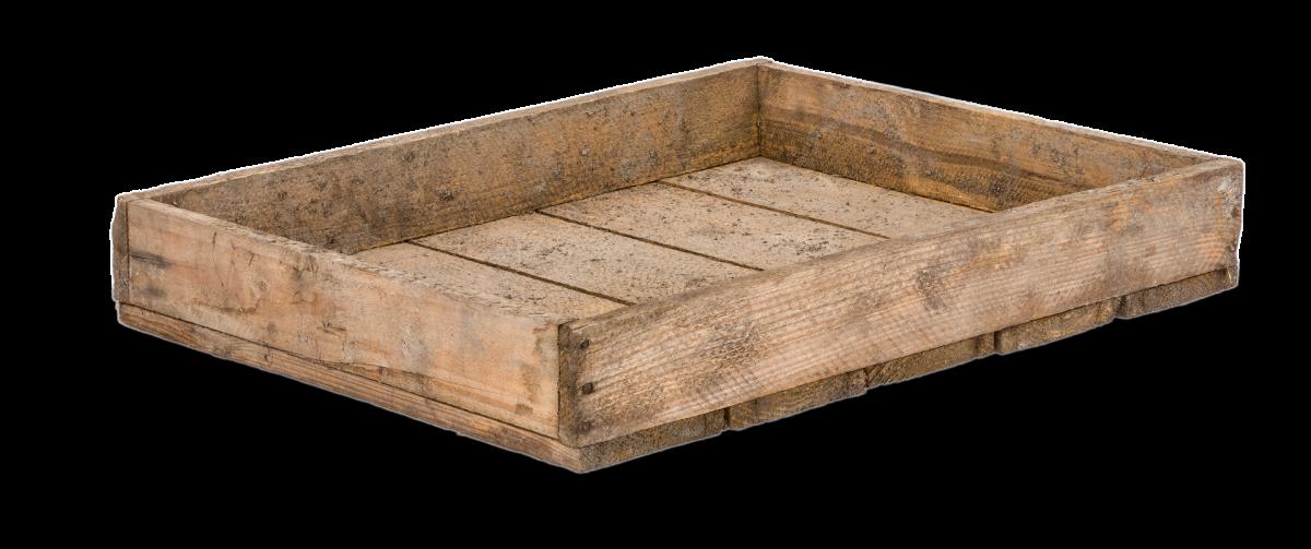 Altes Holztablett 40x50x7,5cm | Holzkiste