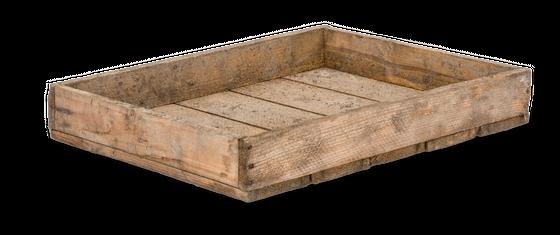 Altes Holztablett 40x50x7,5cm | Holzkiste – Bild 1
