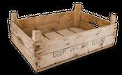 Alte Holzsteige ca. 60x42x22cm | Holzkiste – Bild 1