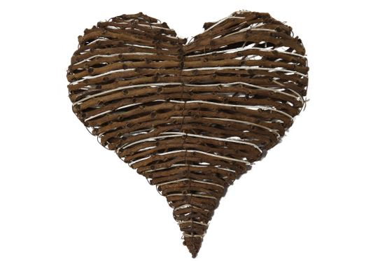 Deko Herz aus natürlichen Dekoästen ca. 25cm – Bild