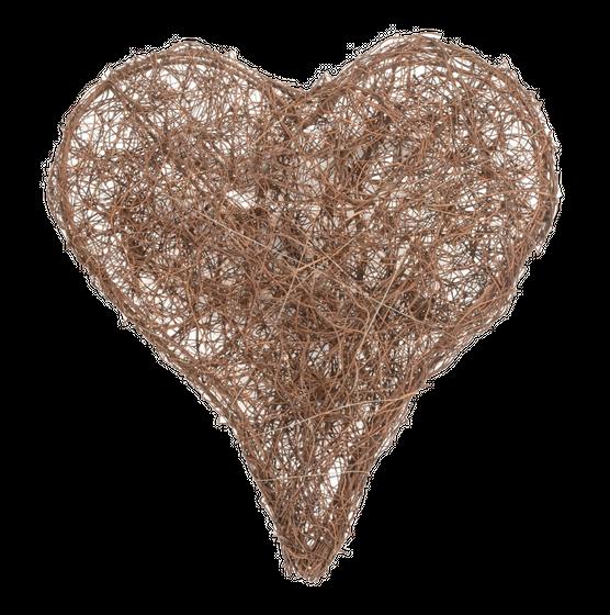 Deko Herz aus aus Salim ca. 15cm – Bild 1