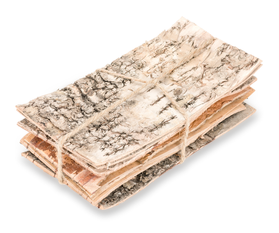 Birkenrinde 20x10cm 8Stk. | Birkenplatten – Bild