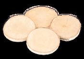 Birkenscheiben Ø ca.12cm  4 Stück – Bild 1
