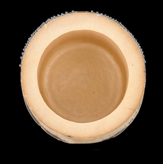 Bambus Vase natur ca. 10x7x7cm – Bild 2