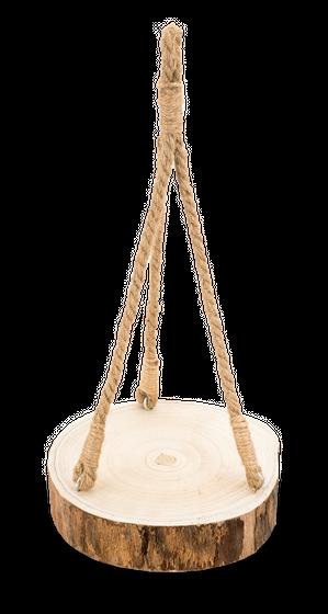 Baumscheibe Hänge Tablett Ø ca. 25cm | Baumscheibenhänger – Bild 1