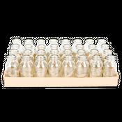 Glasfläschchen 32 Stück ca. 10,5x4,8cm | Deko Glasflaschen – Bild 2