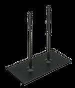Metallständer 20x10x20cm 2-Pins schwarz – Bild 1