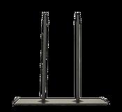 Metallständer 20x10x20cm 2-Pins schwarz – Bild 2