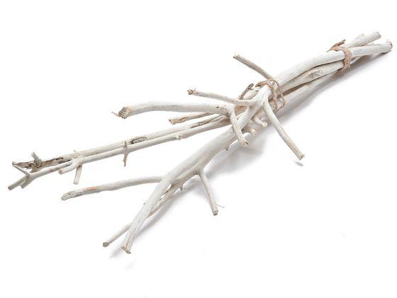 Hartriegel Zweige weiß im Bund mit 5 Stück ca. 75cm | Dogwood – Bild