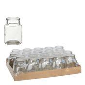 Apothekerflaschen 24 Stück ca. 10x7cm | Deko Glasflaschen – Bild 4