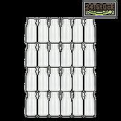 Glasfläschchen 24 Stück ca. 14x6cm   Deko Glasflaschen – Bild 2