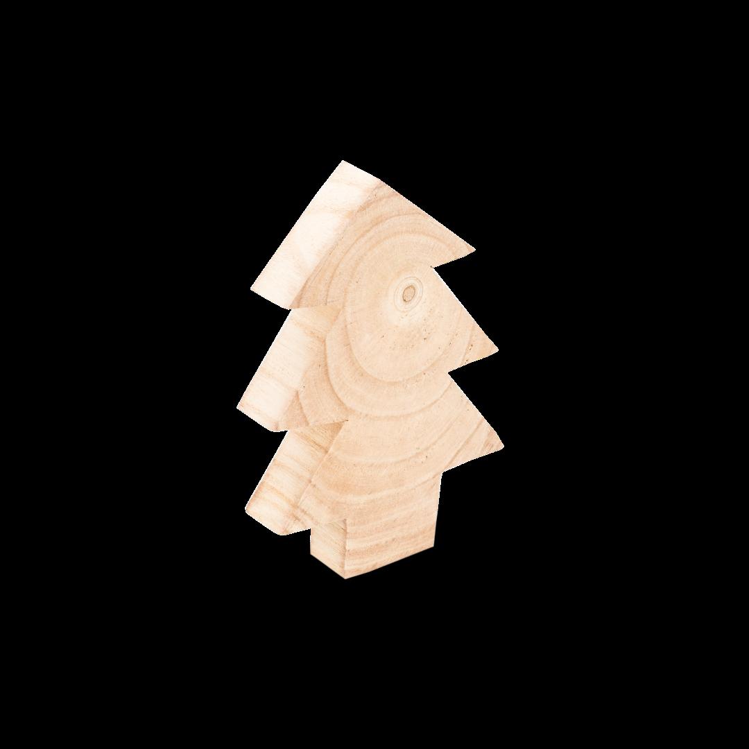 Deko Tannenbaum aus Holz 28cm