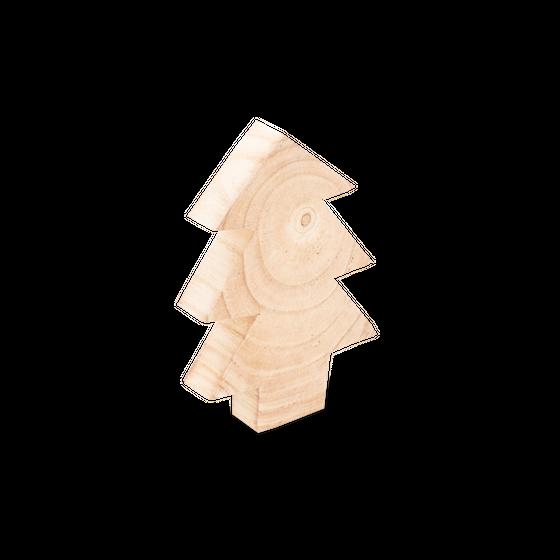 Deko Tannenbaum aus Holz 28cm – Bild 1