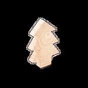 Deko Tannenbaum aus Holz 14cm | Tannenbaum Holz Deko – Bild 1