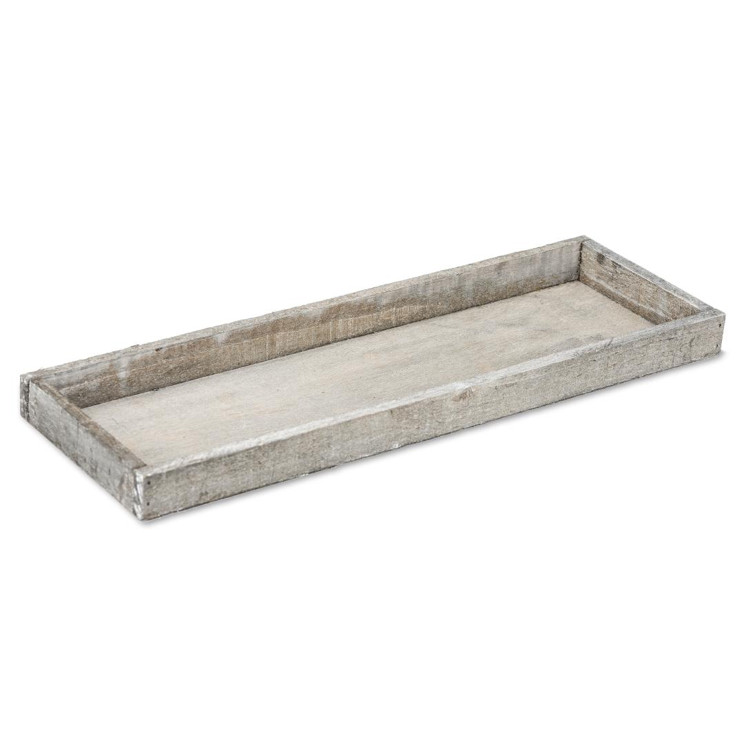 Holz-Tablett natur 42x14x3cm | Dekotablett