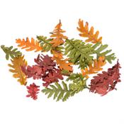 Eichenlaub getrocknet im Farbmix ca. 150g