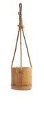 Bambus Blumenampel ca. 10x10x10cm