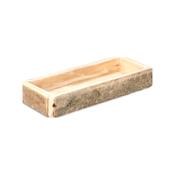 Paulownia Holz-Tablett natur 39x15x6cm | Dekotablett – Bild 1