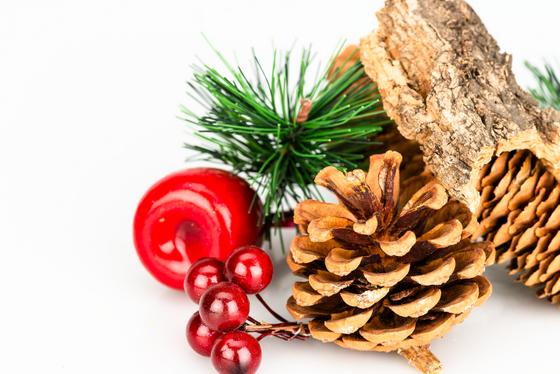 Weihnachtsdeko-Mix zum Basteln und Dekorieren ca. 11x14cm – Bild 2