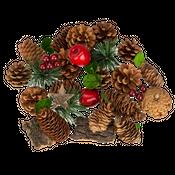Weihnachtsdeko-Mix zum Basteln und Dekorieren ca. 11x14cm – Bild 1