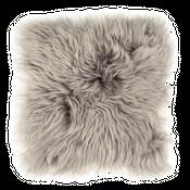 Sitzkissen Lammfell grau ( 35x35cm )  – Bild 1