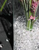 Wasserperlen klar Ø 10-12mm 35g Beutel für 4 Liter Wasser – Bild 5