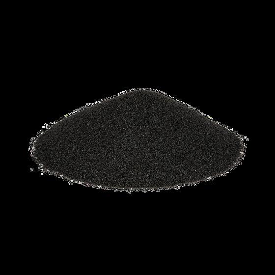 Dekosand Brilliant schwarz 0.1-0.5mm 425ml   schwarzer Farbsand – Bild 1