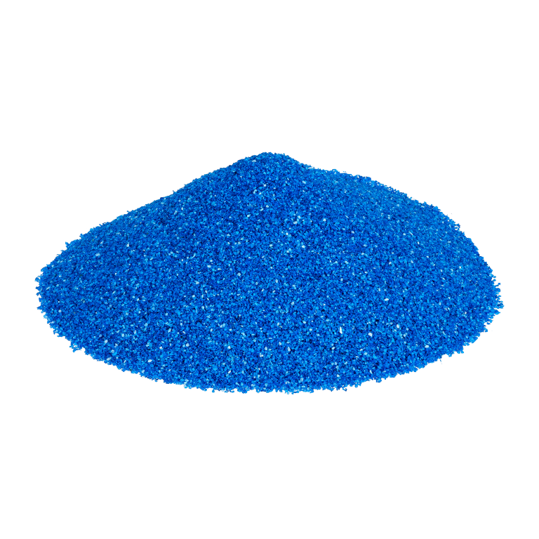 Dekosand Brilliant blau 0.1-0.5mm 425ml | Farbsand
