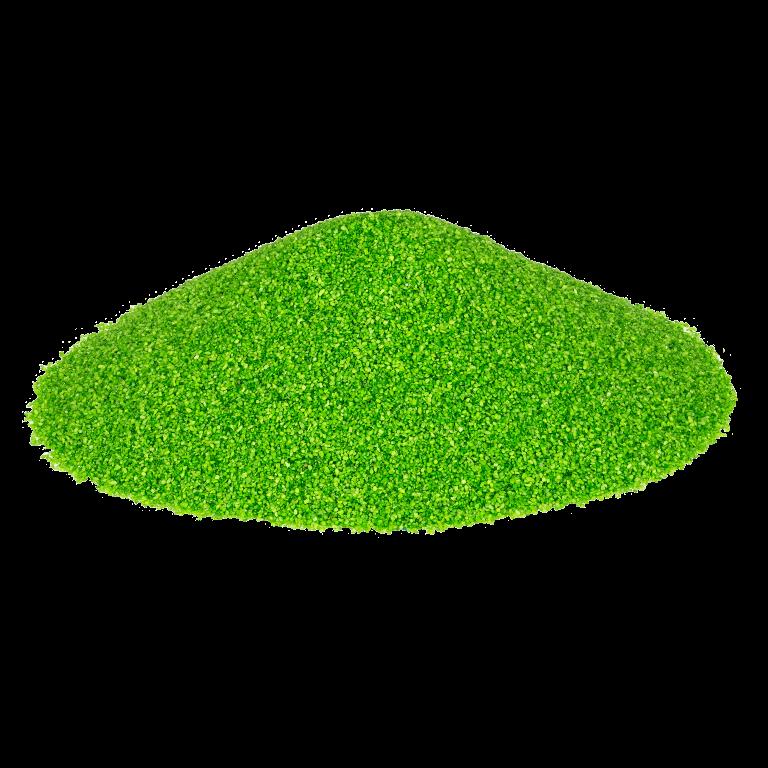 Dekosand Brilliant grün 0.1-0.5mm 425ml | Farbsand