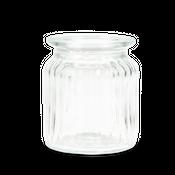 Windlichter 12 Stück Ø 7,5 cm / H 9 cm | Deko Windlicht – Bild 2