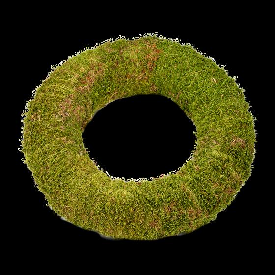 Moos Kranz Ø 30cm x 7cm – Bild 1