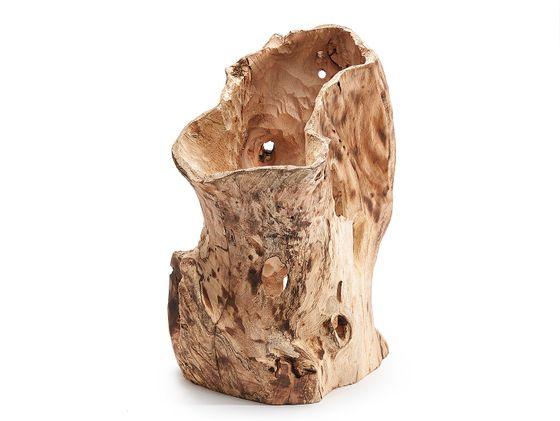 Baumstamm Gefäß ca. 20x20x50cm | Palmen Pott – Bild 1