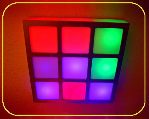 MOFI Panel RGB & Rahmen 30 cm
