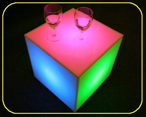 MOFI Würfel RGB 30 cm mit 75 LEDs – Bild 4