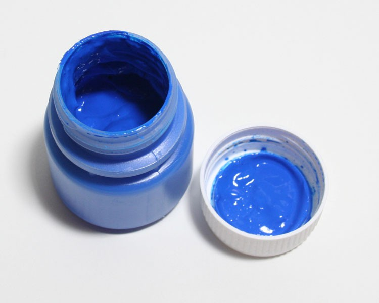 Tagesleucht Dispersionsfarbe fluo 60 ml blau