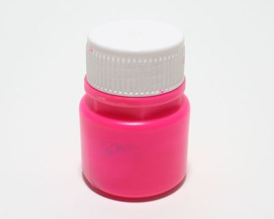 Tagesleucht Dispersionsfarbe fluo 60 ml pink – Bild 3