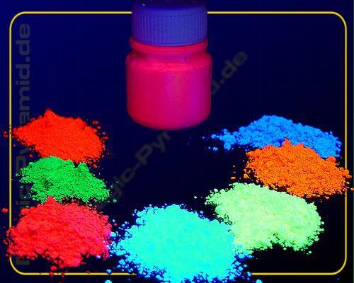 1 kg Leuchtpigmente fluoreszierend orange