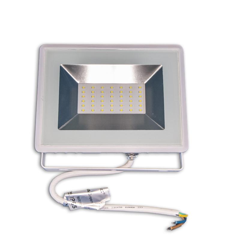 weißer SLIM Fluter 30W 6500K IP65 – Bild 1