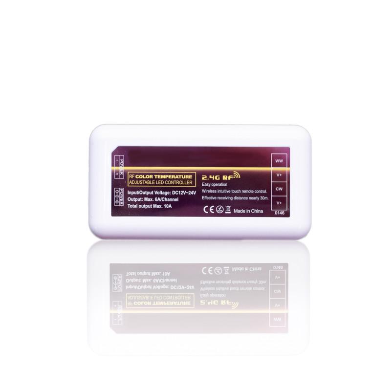 Easy Serie LED Dual Funk-Controller für duale LED | 4 Zonen | 12/24 V | 2,4 GHz – Bild 1