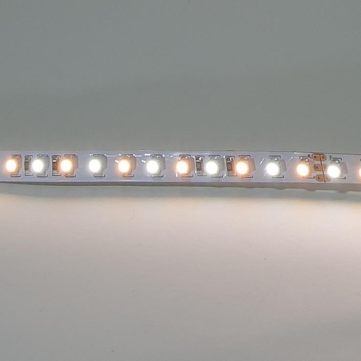 LED Streifen 5m | Dual  | 24V 48W IP20 | je 300 kalt-/warmweiße LEDs | dimmbar – Bild 2