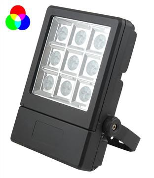 Floodlight | 27 LED | RGB | IP65 | dimmbar