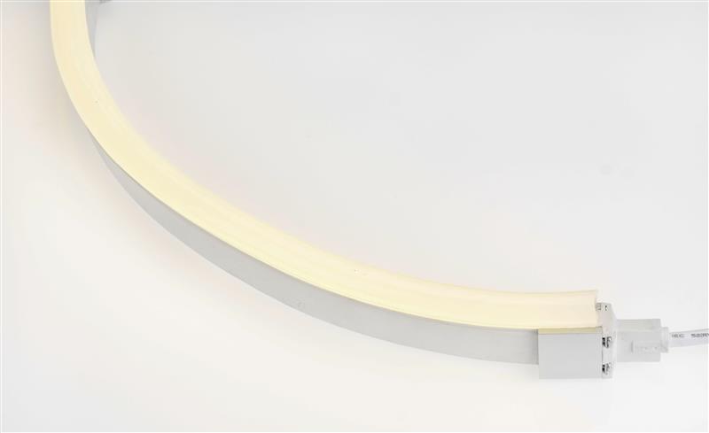 LED Neon Flex Pro | 24 VDC | 12 W/m | 3000 K | Warmweiß | 380lm/m | 10m Rolle | dimmbar – Bild 1