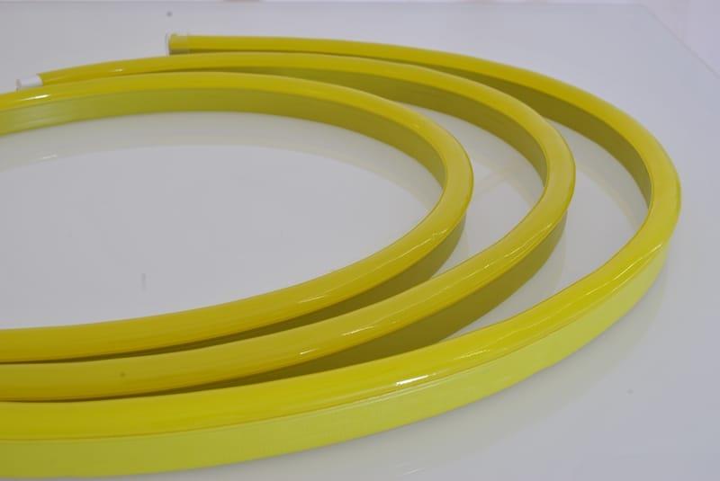 LED Neon Flex Pro Einfarbig | 24 VDC | 12 W/m | Gelb | 210lm/m | 20 m | dimmbar – Bild 2