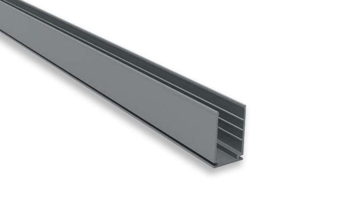 5cm Aluminiumprofil für LED Neon Flex Pro | 14 x 22 mm – Bild 1
