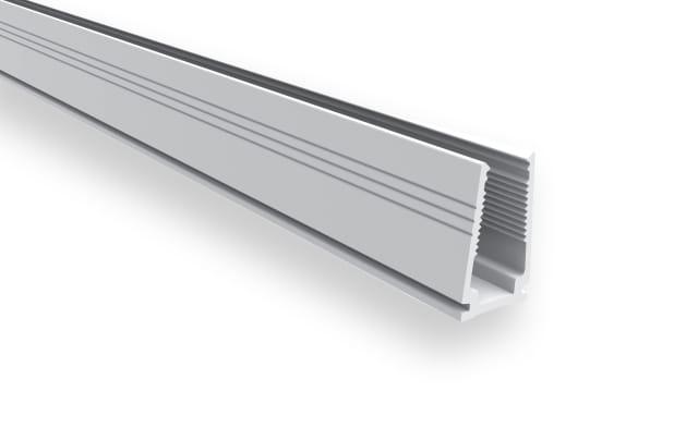 1m Kunststoffprofil für LED Neon Flex Pro & Flat – Bild 1